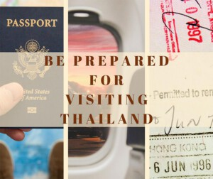 Important documents must be prepared for visiting Thailand